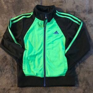Adidas boys zip up